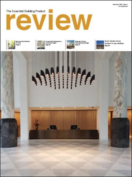 Download The Essential Building Product Review — Issue 4 — November 2017