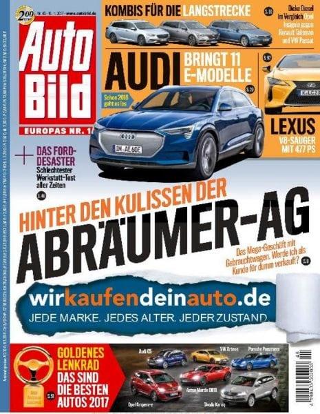 Download Auto Bild Germany — 11. November 2017