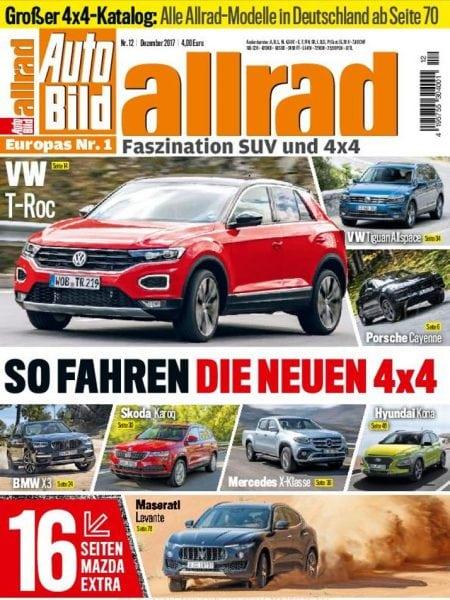 Download Auto Bild Allrad — Dezember 2017