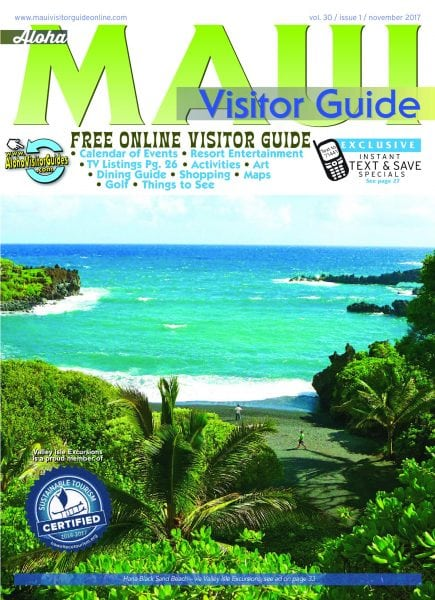 aloha maui visitor guide november 2017 pdf download free. Black Bedroom Furniture Sets. Home Design Ideas