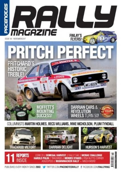 Download Pacenotes Rally Magazine — November 2017