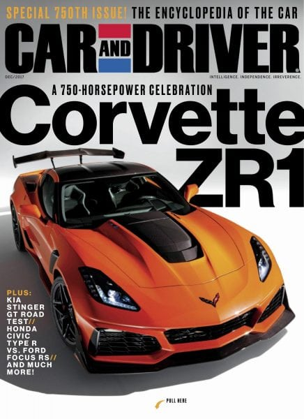 Download Car and Driver USA — December 2017