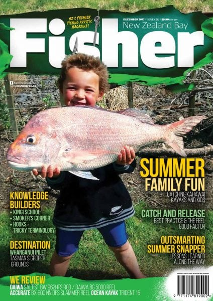 Nz bay fisher december january 2017 pdf download free for Free fishing magazines