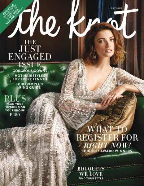 Download The Knot Weddings Magazine — December 2017