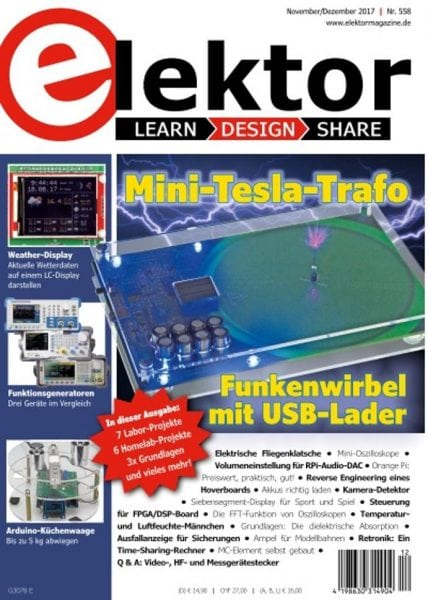 Download Elektor Germany — November-Dezember 2017