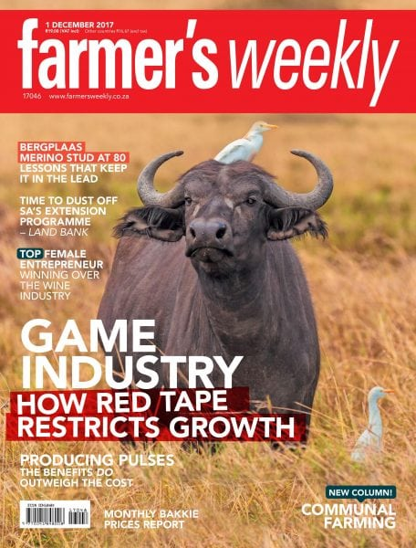 Download Farmer's Weekly — 01 December 2017