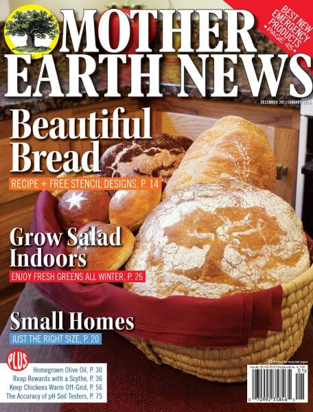 Download Mother Earth News — December 01, 2017