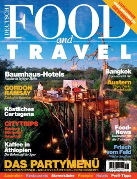 Download Food and Travel Germany No 01 — Dezember Januar 2018