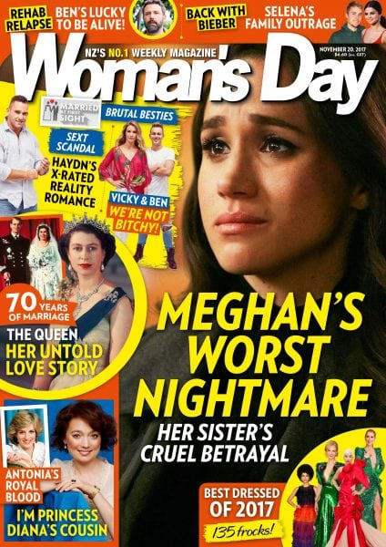 Download Woman's Day New Zealand — November 20, 2017