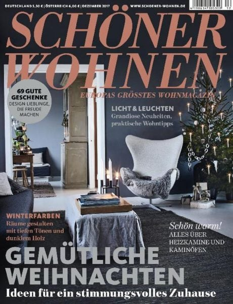 sch ner wohnen dezember 2017 pdf download free. Black Bedroom Furniture Sets. Home Design Ideas