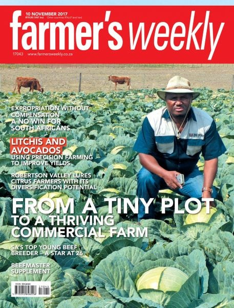 Download Farmer's Weekly — 10 November 2017