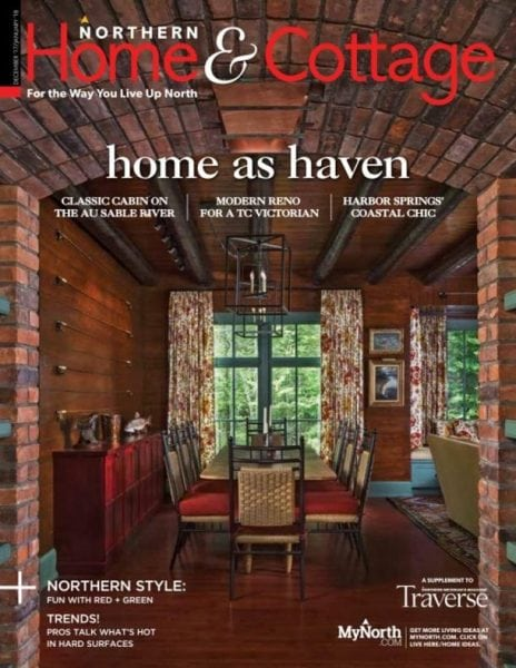 Northern home cottage december 2017 january 2018 for Home decorations for january