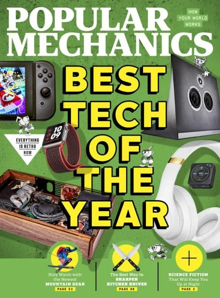 Download Popular Mechanics USA — January 2018