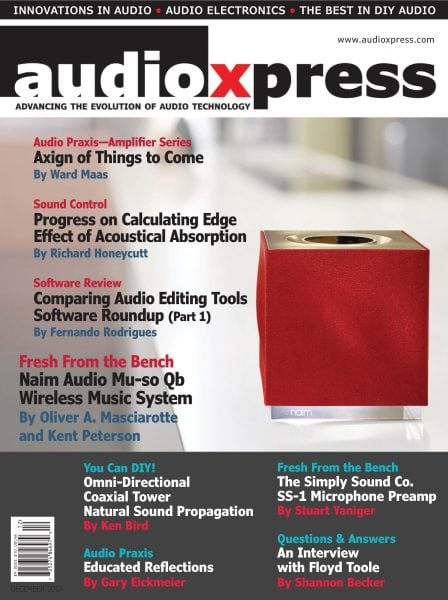 Download audioXpress — December 2017