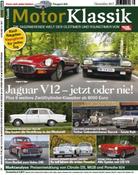 Download Auto Motor Sport Motor Klassik No 12 – Dezember 2017