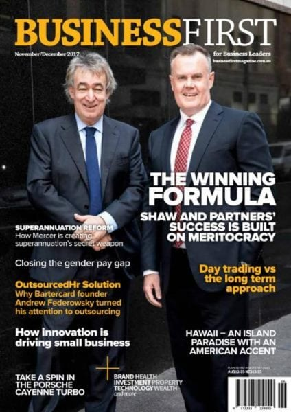 Download Business First — November-December 2017