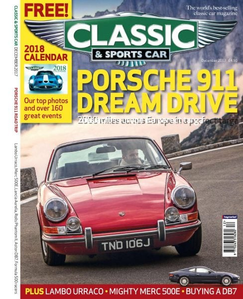 Download Classic & Sports Car UK — December 2017