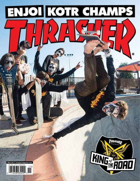 Download Thrasher — November 2017