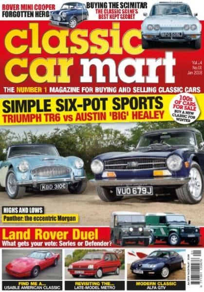 Download Classic Car Mart — January 2018
