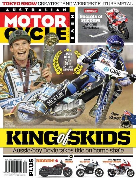 Download Australian Motorcycle News — November 09, 2017