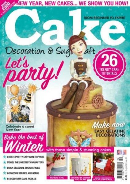 Cake Decoration & Sugarcraft   New Trends 2018 PDF ...
