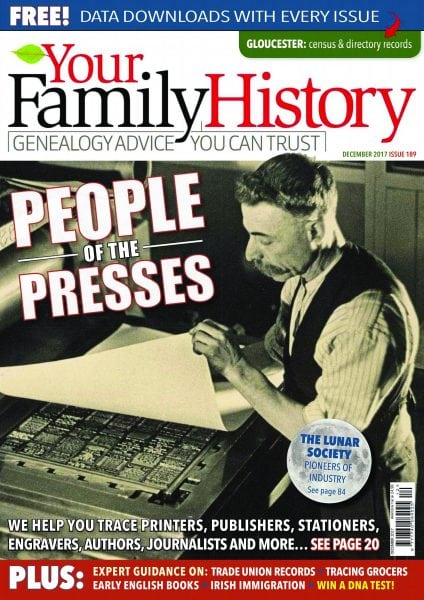 Download Your Family History — December 2017