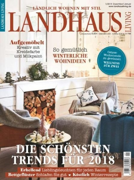 landhaus living dezember 2017 januar 2018 pdf download free. Black Bedroom Furniture Sets. Home Design Ideas