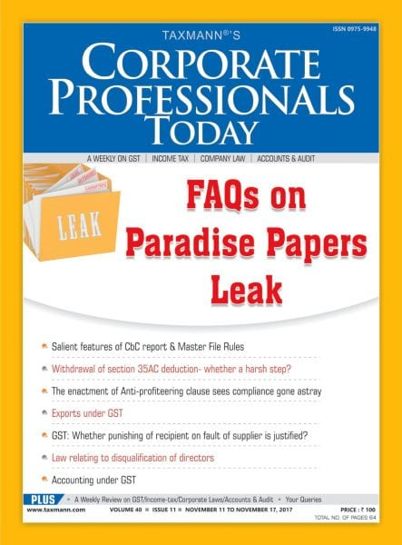 Download Corporate Professional Today — November 13, 2017
