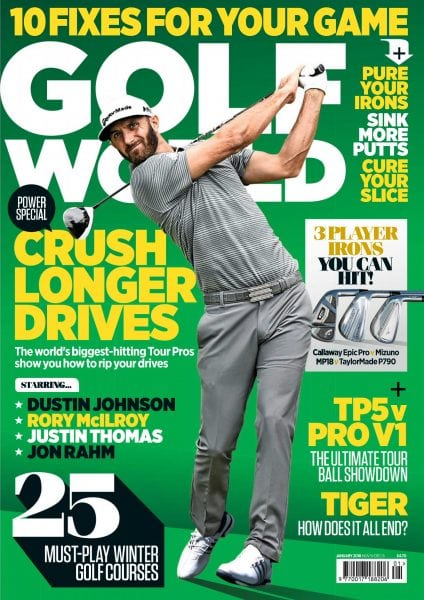 Download Golf World UK — January 2018