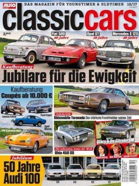 Download Auto Zeitung Classic Cars — Dezember 2017