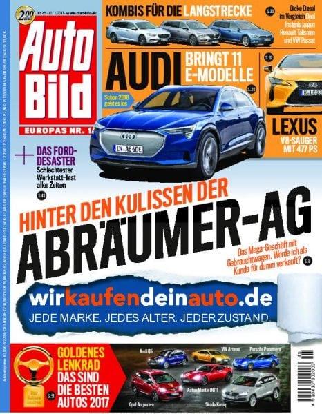Download Auto Bild Schweiz — 10. November 2017