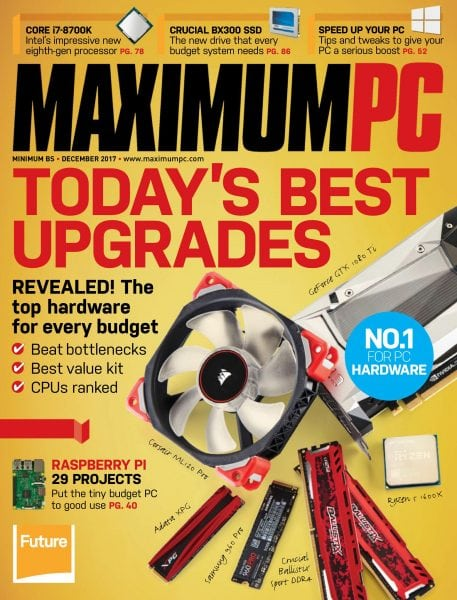 Maximum PC — December 2017 PDF download free