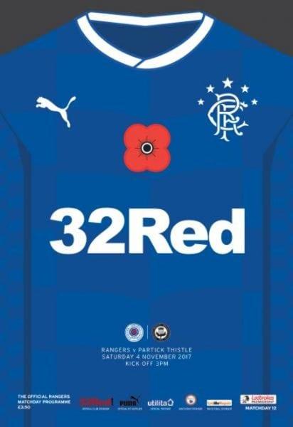 Download Rangers Football Club Matchday Programme — 4 November 2017