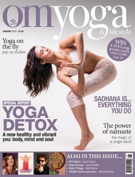 Download Om Yoga Magazine — January 2018