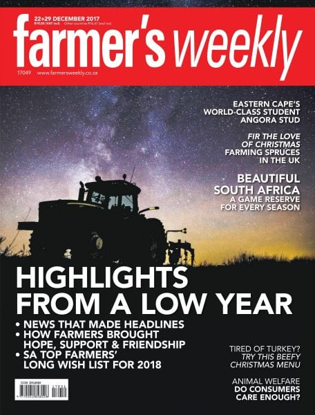 Download Farmer's Weekly — 29 December 2017