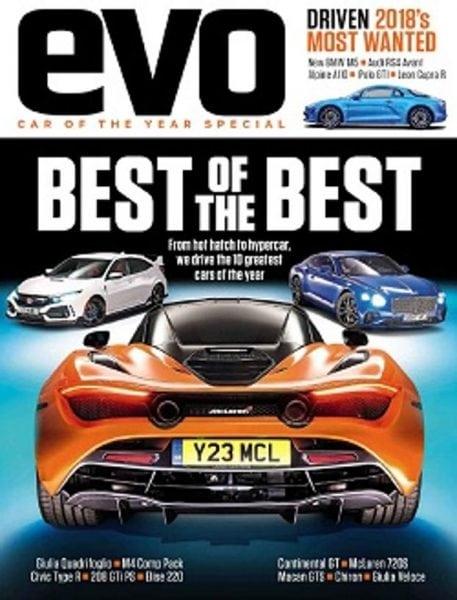 Evo Uk Car Of The Year  Pdf