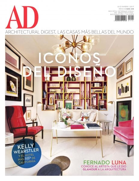 Download Architectural Digest México — enero 2018