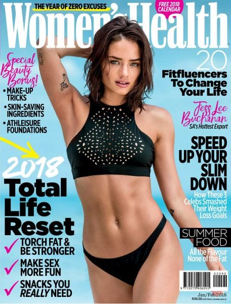 Download Women's Health South Africa — January 2018
