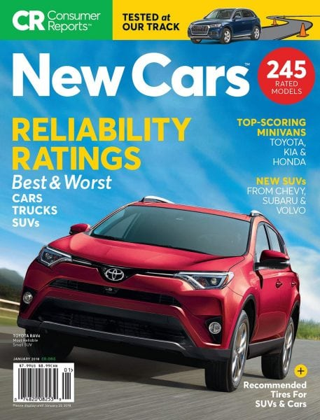 Consumer Reports New Cars January 2018 Pdf Download Free