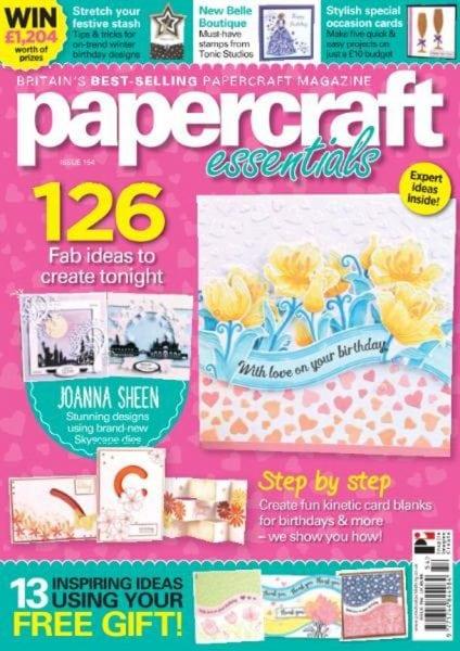 Download Papercraft Essentials — Issue 154 2017
