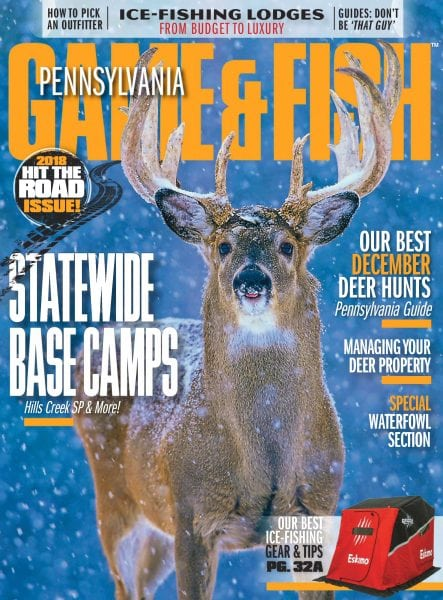 Pennsylvania game fish december 2017 pdf download free for Free fishing day 2017 pa