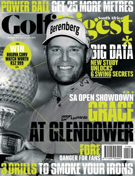 Download Golf Digest South Africa — January 2018