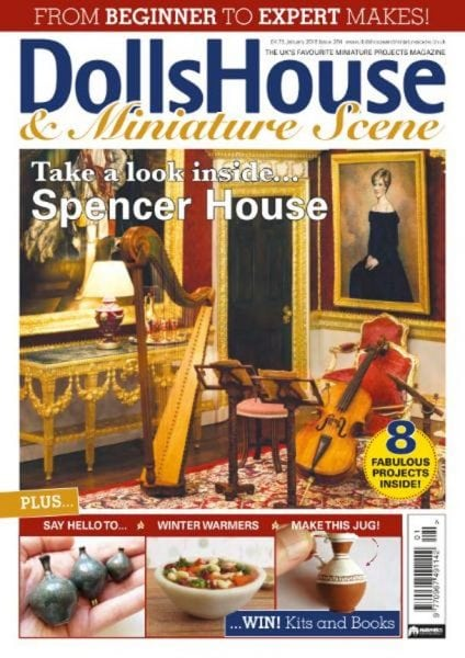 Download Dolls House and Miniature Scene — January 2018