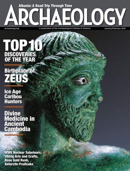 Download Archaeology Magazine — January-February 2018
