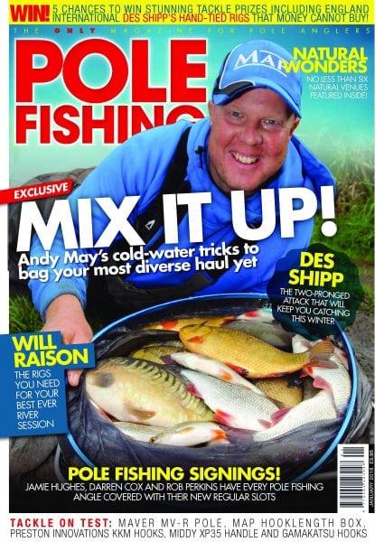 Pole fishing january 2018 pdf download free for Free fishing magazines