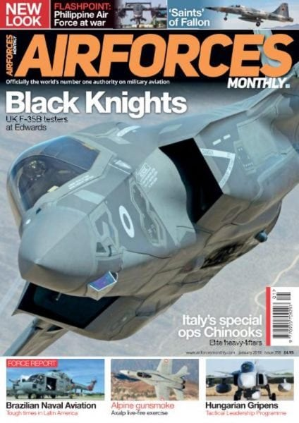 Download Airforces Monthly — January 2018
