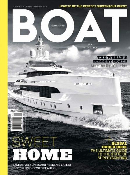 Download Boat International US Edition — January 2018