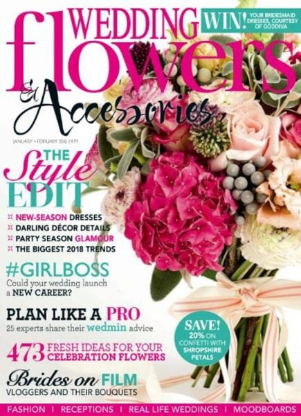 Download Wedding Flowers — January-February 2018