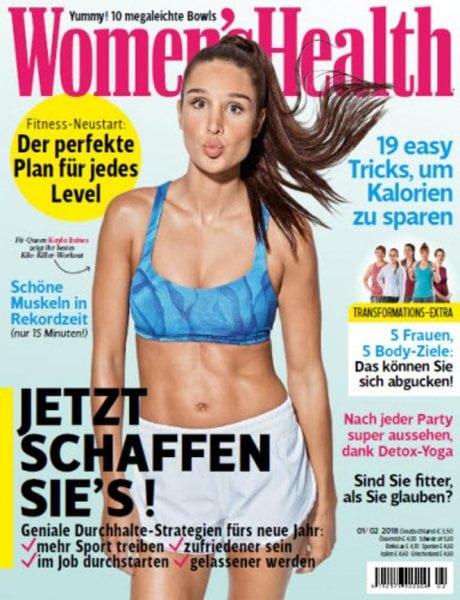 Download Women's Health Germany No 01 02 – Januar Februar 2018