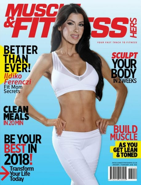 Download Muscle & Fitness Hers South Africa — January-February 2018